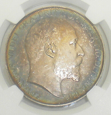 1902 Great Britain Edward VII Proof Crown - NGC PF 63 Matte - Coin0143