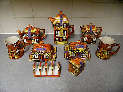 9 piece set, Price Brothers, Cottage Ware