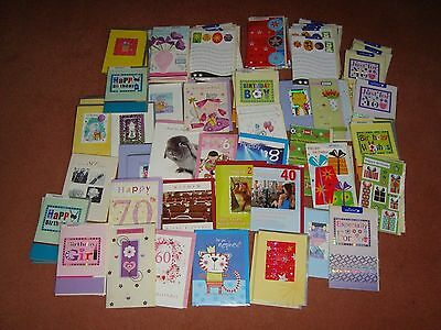 100 Assorted Quality Birthday cards