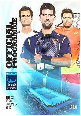 2016 Barclays ATP World Tour Tennis Final; Programme/Daily News Day2 Andy Murray