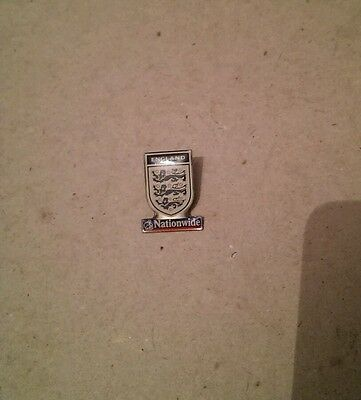 England Three Lions crest Nationwide pin badge - Three Lions