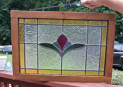 Stained Glass Window - Styled After an Original English Window