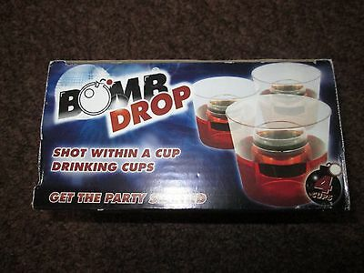 BNIB Shot within a Cup Drinking Cups - Bomb Drop