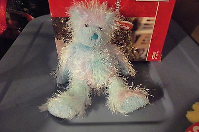Twizzles The Blue Bear  Ty Punkies  Retired New 9 Inches