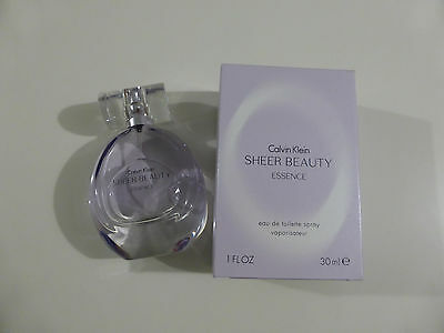 Calvin Klein Sheer Beauty Essence Eau De Toilette Spray 30ml Womens NEW Boxed
