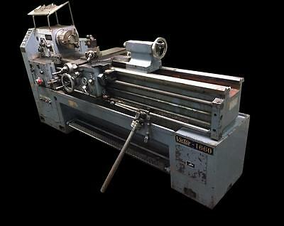 "Victor 1660 16"" X 60"" High Speed Precision Lathe - 7.5 Hp, 8"" Chuck, 220V 3 Ph"