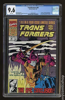 Transformers (1984 Marvel) 1st Printing #80 CGC 9.6 (1361315001)