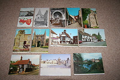 A collection of Essex postcards from the 1900s.