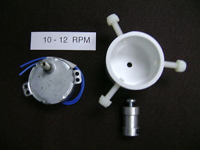 10 - 12  RPM  DRYING-DRYER MOTOR   with Rod Chuck