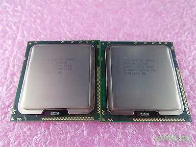 Matched Pair SLBYL Intel Xeon X5675 6 Core 3.06ghz 12m 6.4 GT/s Processors