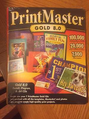 print master gold 8.0  print projects
