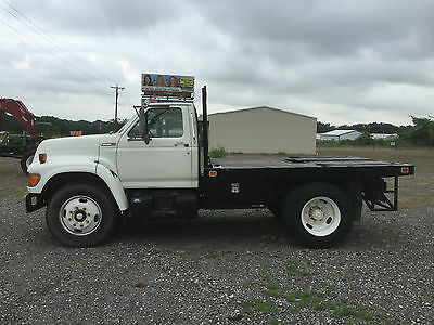95 Ford F700 Flatbed Truck 58,041 orig miles Very Clean Truck