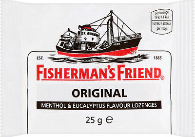 Fisherman's Friend Original Lozenges - Various Quantity - Long Use by Date - 25g