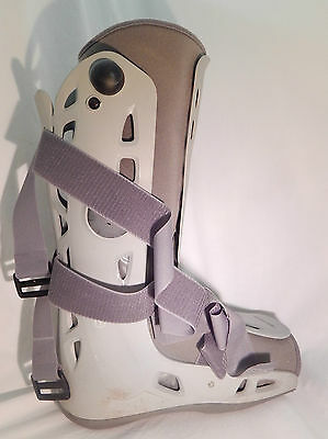 Xl Air Cast Moon Boot Walking Cast Grey Extra Large Used Good Used Condition