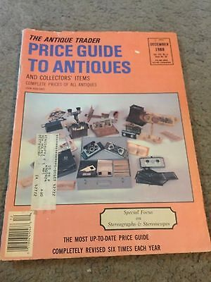 The Antique Trader Price Guide To Antiques Fall 1988 Magazine Vol. XIX No. 6