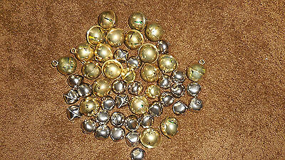 Jingle Bells Mixed Lot Of Silver And Gold