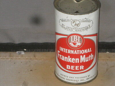 International  Frankenmuth Beer  Real Beauty  Buffalo    Flat Top