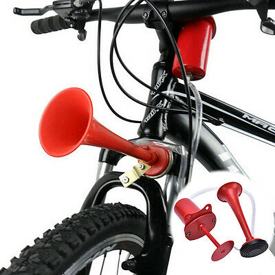 120db Cycling Bike Bicycle Air Horn Pump Bell Super Loud New Professional Red HU
