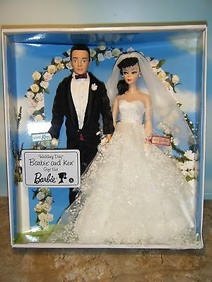 Barbie & Ken Reproduction Wedding Day Gift Set *new*