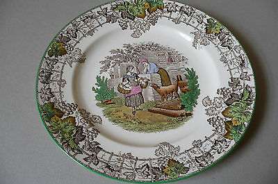 Spode 'Byron' 1950's Dinner Plate. Exc. Condition.