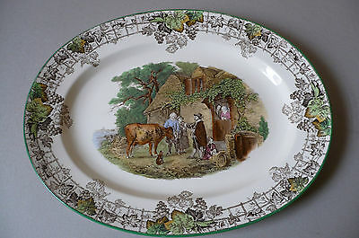 Spode 'Byron' 1950's Large Meat Plate. 39cms. Mint Condition.