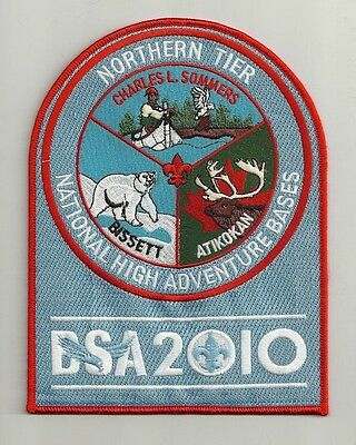 Northern Tier Bsa 2010 Three Bases Jacket Patch