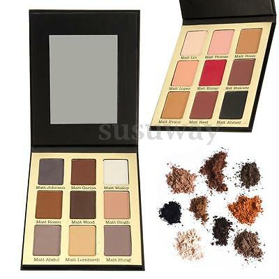 Pro 9 Colors Lady Eye Shadow Makeup Cosmetic Shimmer Matte Eyeshadow Palette Set