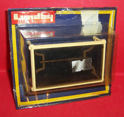 VINTAGE 1970's LUNDBY DOLLS HOUSE COFFEE TABLE & ORIGINAL CARD