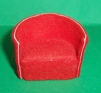 Vintage Dolls House Early Barton Tub Chair
