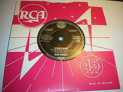 Elvis Presley - Wooden Heart / Tonight Is So Right For Love ....mint/unplayed