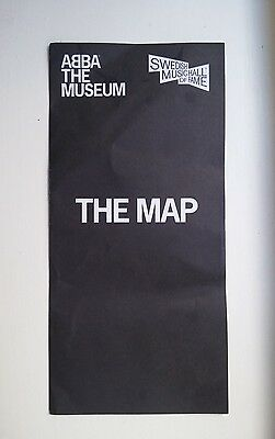 ABBA The Museum - The Map