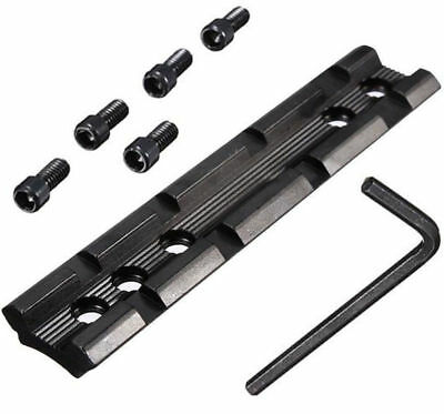 4 emplacement pour Weaver/picatinny rail 20mm x 100mm scope base mount gun fusil
