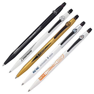 Cross Click Rollerball Pens - Star Wars Collection