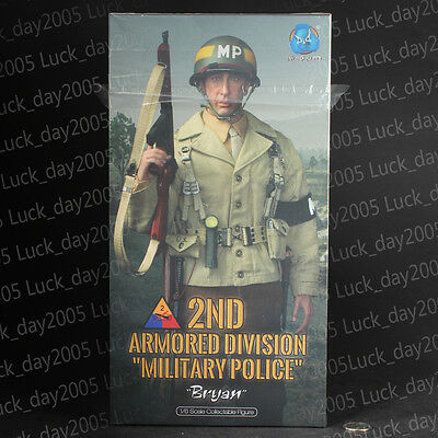 """DID WWII US 2nd Armored Division Military Police """"Bryan"""" 1/6 Figure"""
