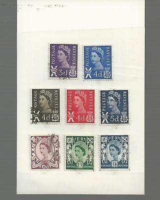 Great Britain - Small Selection Of Used Stamps - Gb5