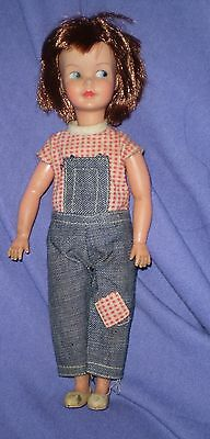 """Vintage """"pedigree"""" Patch Doll In Original Outfit, Sindy Sister"""