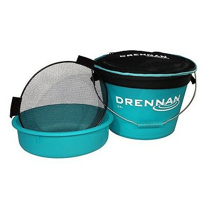 NEW Drennan Fishing Bait Bucket Set - 25L - TGBU025