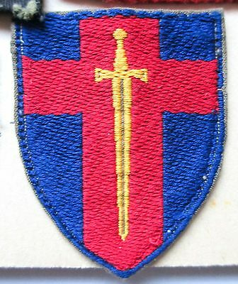 BRITISH army MILITARY FORCES DIVISION OR FORMATION cloth PATCH BADGE RHINE ARMY