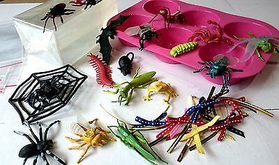 Creepy Critters DIY Soap Making Kit, Melt and Pour, Easy, Transparent Bugs Soap