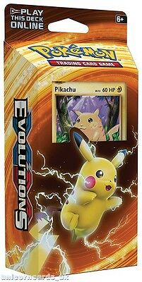 Pokemon XY12 Evolutions Theme Deck :: Pikachu Power :: 60 Cards + Code + Extras