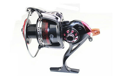 New12+1 BB Ball Bearing High Speed Spinning Reels Aluminum Fishing Reel LK4000