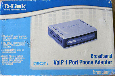 D-Link VoIP adapter dvg-2001s