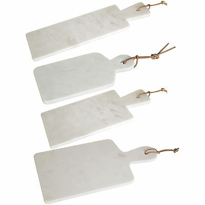 Off White Marble Paddle Boards Rectangular Chopping Cheese Food Serving Platter