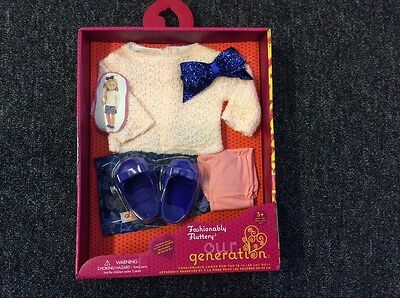 """Our Generation Doll outfit """"Fashionably fluttery""""new"""