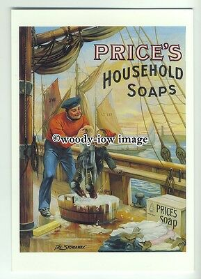 ad0295 - Prices Household Soaps - Modern Advert Postcard
