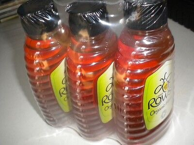 Rowse Honey Pure & Natural Squeezable Bottle 3x 340g Bottles Mead Melomel