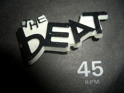 THE BEAT WALT JABSCO SPECIALS SELECTER MADNESS two 2-tone ska MOD PATCH BADGES