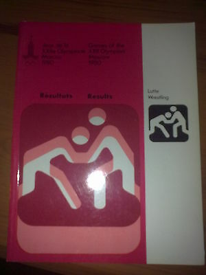 Olympic Games Moscow 1980 Wrestling - Results Guide (english)