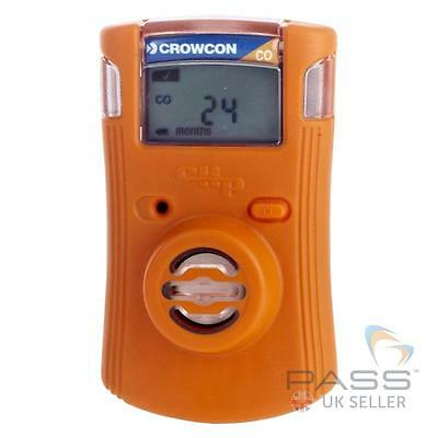 Crowcon Clip Personal Carbon Monoxide (CO) Detector - Portable, Robust / UK