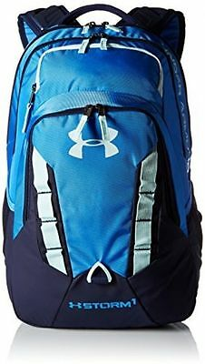 Under Armour Storm Recruit Backpack Sports Outdoors Bag New Blue 1261825-464